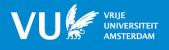Vrije Universiteit Amsterdam Nederland