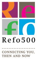 REFO 500 Logo ondertitel - connecting you then and now
