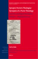 Book presentation: Synopsis Purioris Theologiae