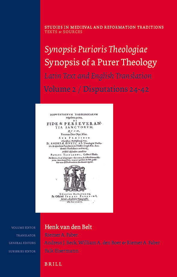 "Symposium ""From Predestination to Preaching: A Presentation of Synospis Purioris Theologiae (1625), vol. 2"