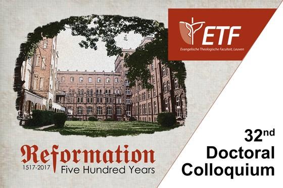 Doctoral Colloquium 'Reformation 1517-2017'