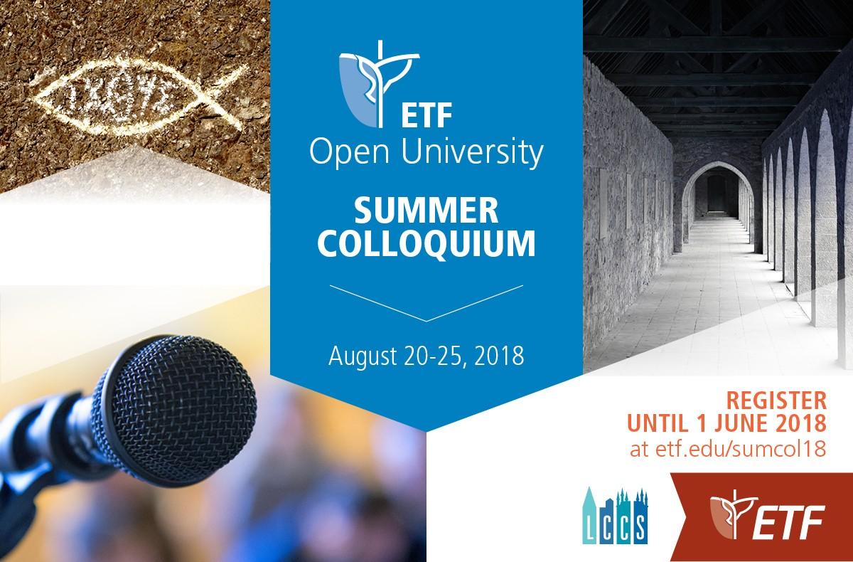 Summer Colloquium '18