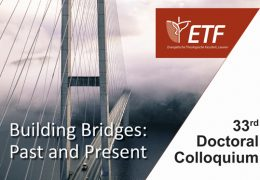 Doctoraatsweek 'Building Bridges: Past and Present'
