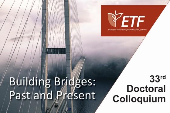 Doctoraatsweek 'Building Bridges: Past and Present'