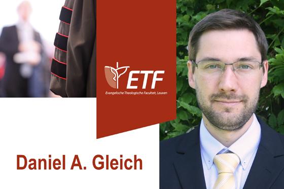 Openbare verdediging dissertatie Daniel A. Gleich