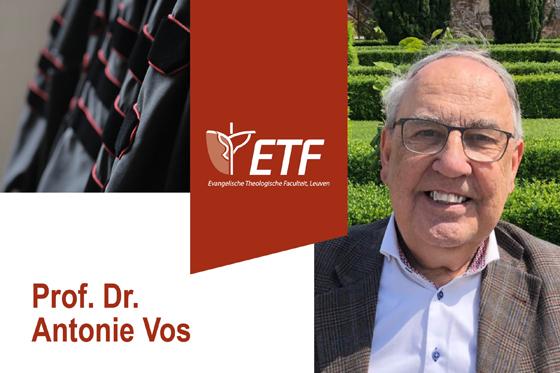 Afscheidslezing prof. dr. Antonie Vos
