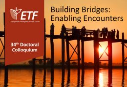 Doctoral Colloquium 'Building Bridges: Enabling Encounters'