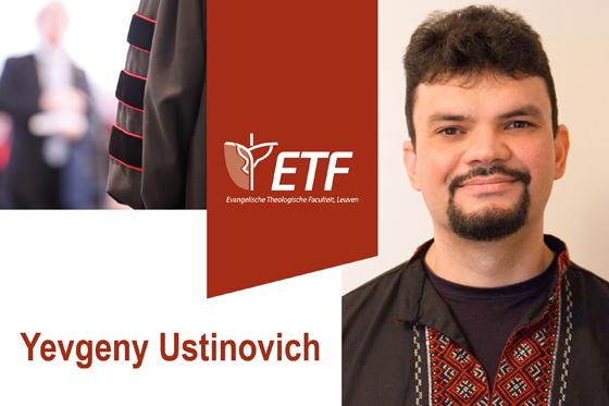 Public Defense Dissertation Yevgeny Ustinovich