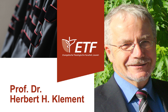 Afscheidslezing prof. dr. Herbert H. Klement