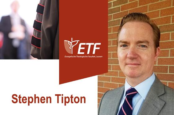 Openbare verdediging dissertatie Stephen Tipton