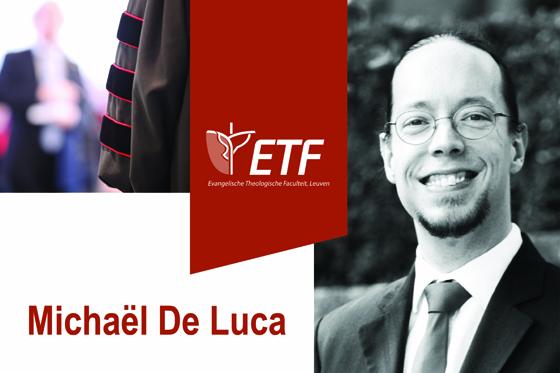 Openbare verdediging dissertatie Michaël De Luca