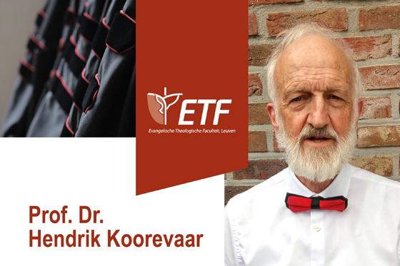 Afscheidslezing prof. dr. Hendrik Koorevaar